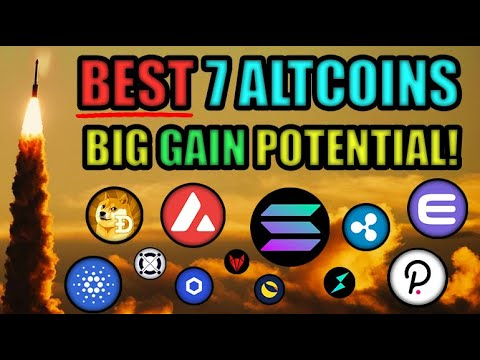 BEST 7 ALTCOINS! BIG PRICE MOVES COMING! THINGS HAVE CHANGED! | CRYPTOCURRENCY NEWS