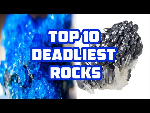TOP 10 Most Deadly Rocks & Minerals in the world - Deadliest rocks !