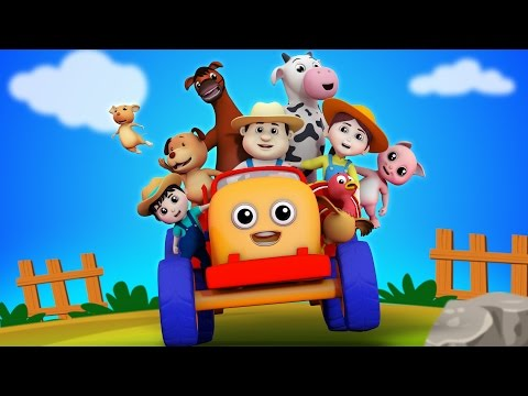 Farmer In The Dell | Nursery Rhymes Farmees | Kids Songs | Baby Rhyme
