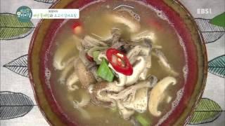 최고의 요리 비결 - 방영아의 버섯 들깨탕과 소고기 감…