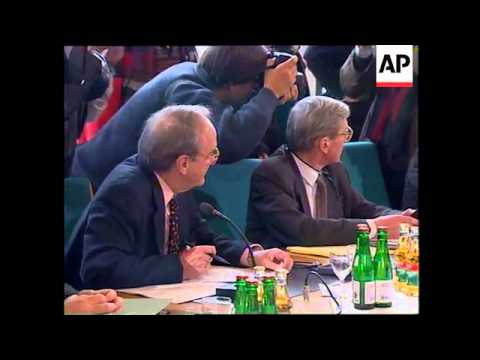 GERMANY: BONN: 6 NATION CONTRACT GROUP KOSOVO MEETING