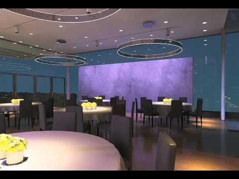 ERCO - Lighting design for a restaurant - YouTube