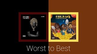 Worst to Best - Love Songs 4 The Streets 2 & Rich Forever 4 | By Lil Durk & Rich Forever Music