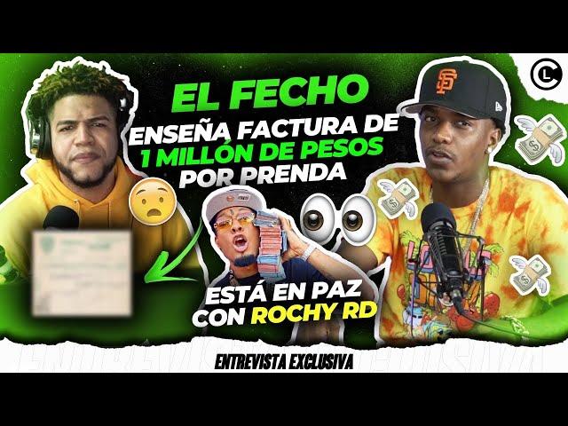 EL FECHO RD CONFIESA ESTÁ EN PAZ CON ROCHY RD. ENSEÑA FACTURA DE MÁS DE 1 MILLÓN DE PESOS EN GUILLO