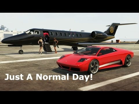 """""""Just A Normal Day!"""" - GTA 5 Beast Gameplay - (Grand Theft Auto 5 Gameplay)"""