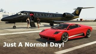 """Just A Normal Day!"" - GTA 5 Beast Gameplay - (Grand Theft Auto 5 Gameplay)"