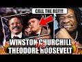 Theodore Roosevelt vs Winston Churchill. Epic Rap Battles of History (REACTION!)