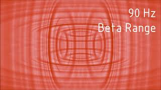 Pure 90 hz Beta Range Binaural Beats [30 min]