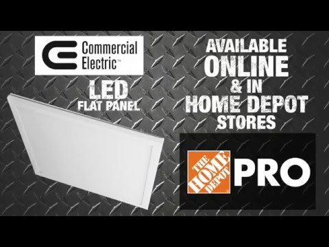 commercial-electric-led-flat-panel-technology---the-home-depot
