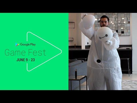 DISNEY CROSSY ROAD COSTUME CHALLENGE - Google Play #GameFest
