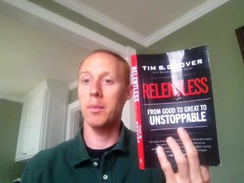Relentless by Tim Grover: My Summary
