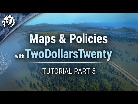 Maps & Policies with TwoDollarsTwenty   Cities: Skylines Industries Tutorial Part 5
