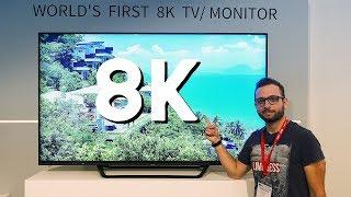 Il primo TV Sharp 8K in Europa da marzo a oltre 7000 euro | IFA 2017