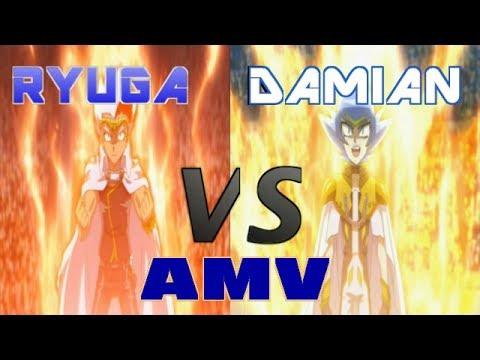 Beyblade AMV:Ryuga VS Damian (Hades Kerbecs VS Meteo L-drago)