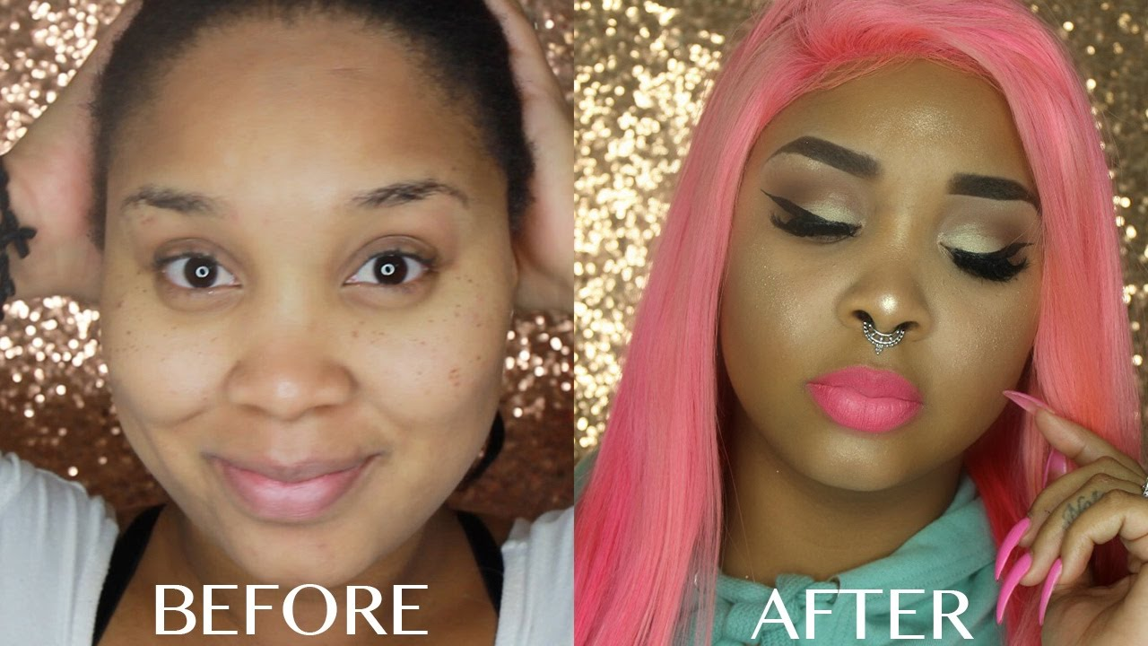 EXTREME MAKEUP TRANSFORMATION - YouTube