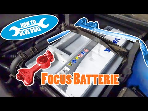 How To Replace Ford Battery - Car Battery Replacement for Ford Focus MK2, Mondeo 4, C-MAX etc.