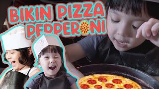 GEMPI VLOG! - BUAT PIZZA BARENG TEMAN-TEMAN SEKOLAH! Everybody Let's Make Pepperoni Pizza ..
