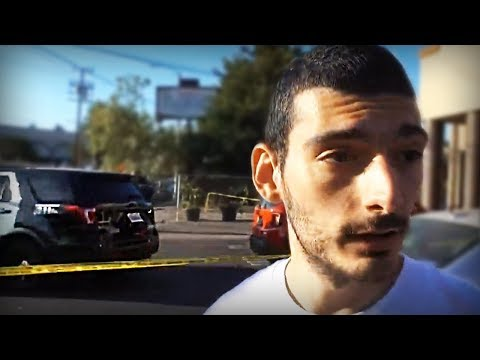 Getting On The News And Interviewing Crime Witnesses With Ice Poseidon