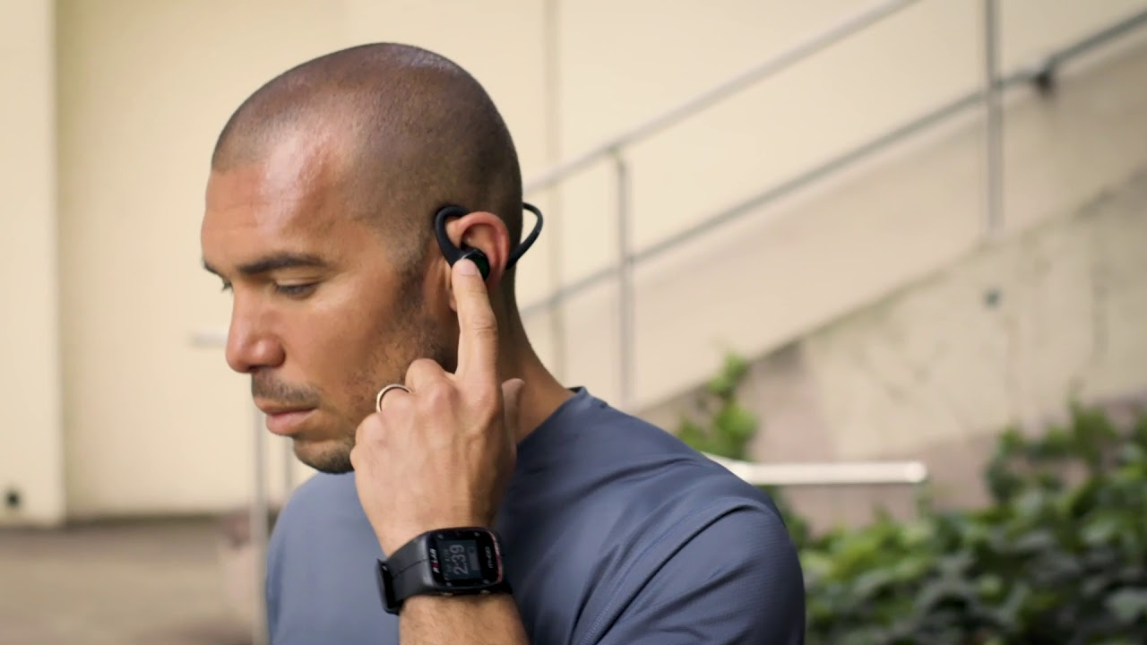 Plantronics Backbeat Fit 2100 In-Ear Wireless Headphones (Grey)
