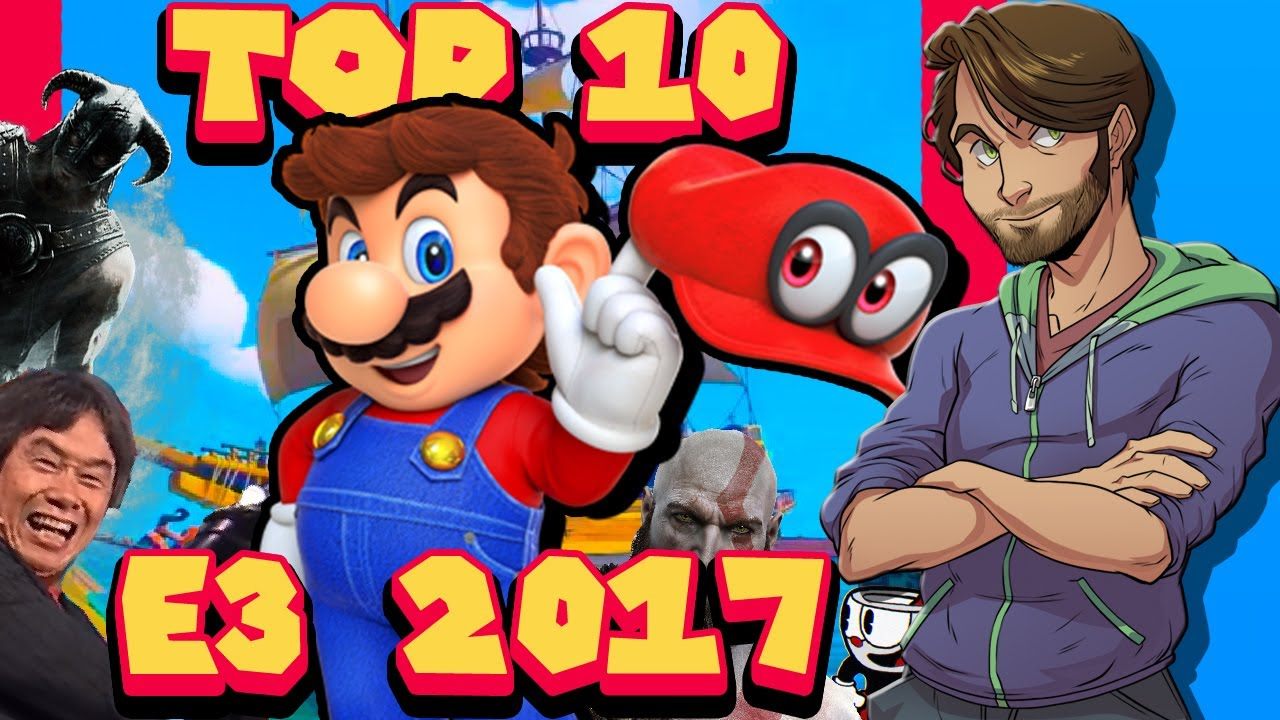 My Top 10 of E3 2017 - SpaceHamster