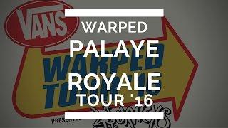 Palaye Royale Interview at Vans Warped Tour 2016!