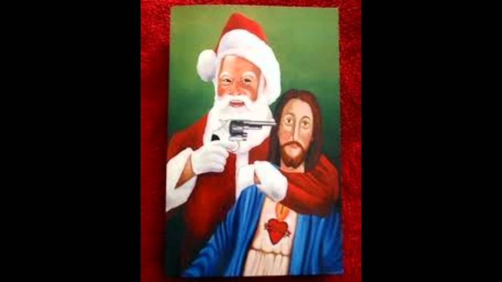 baby jesus and santa claus youtube - Santa With Jesus