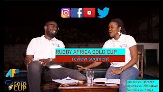 Official Podcast for the 2018 Rugby Africa Gold Cup; Review Segment (Match Day 7)