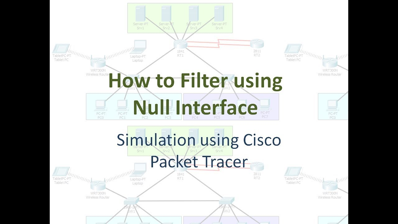 How to Filter using Null Interface