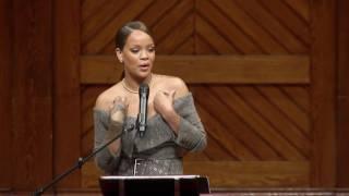 Rihanna named Harvard University's Humanitarian of the Year thumbnail