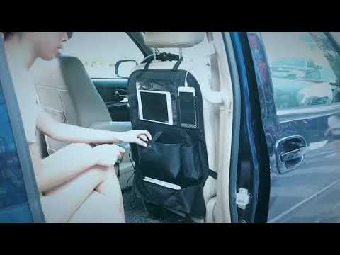 Car Seat Organizer With USB Charger Slot Review