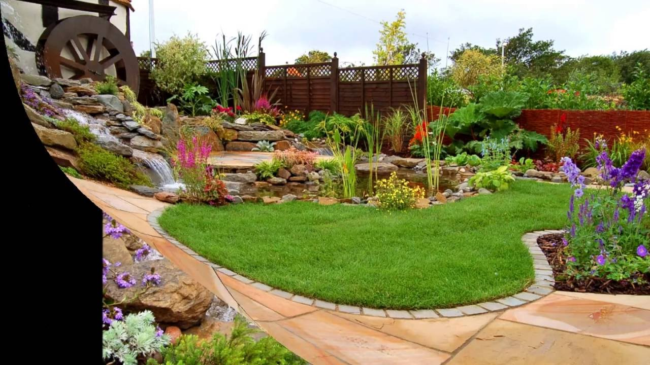 The Best Garden Makeover By Abel Landscaping - YouTube