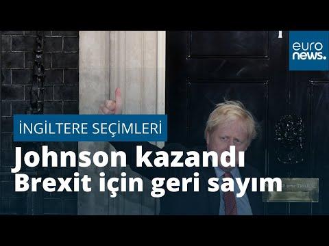 Birleşik Krallık seçimlerinde Johnson'ın lideri olduğu Muhafazakar Parti mutlak çoğunluğu kazandı…
