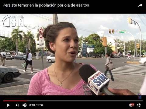 Dominican Republic News 2016 | Increased police patrol to combat street theft