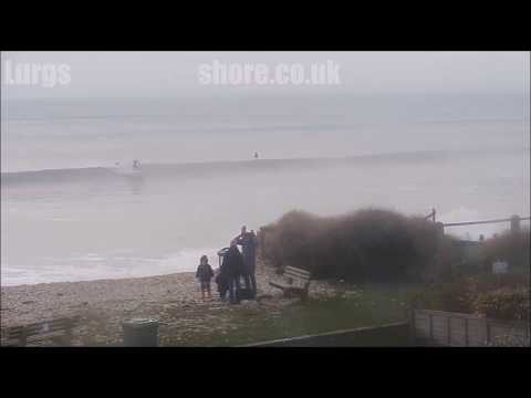 Surfing Wittering Jan 6th 2018 Clean & Offshore