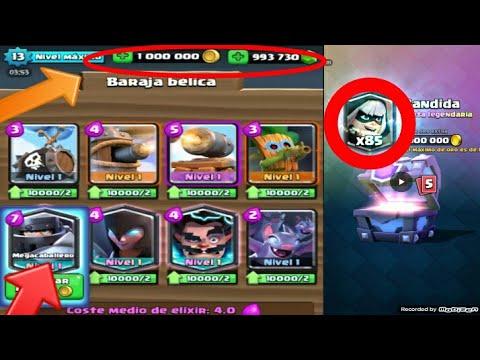 Jugando Con El Megacaballero En Servidor Privado/clash Royale/🔴
