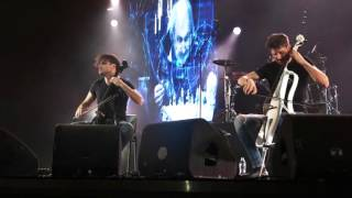 2CELLOS They Don't Really Care About Us Bucharest 2015
