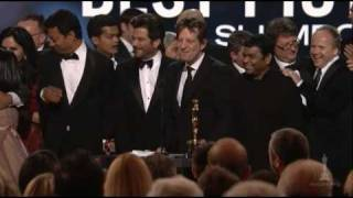"""Slumdog Millionaire"" winning the Best Picture Oscar®"