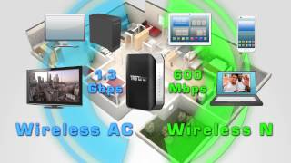 TRENDnet AC1900 Dual Band Wireless Router TEW-818DRU