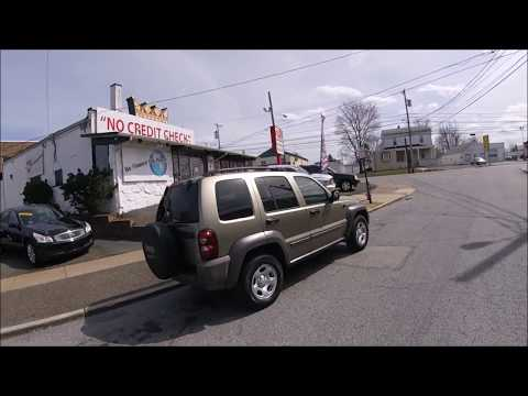 2007 Tan /Gray Jeep Liberty Sport 4WD (1J4GL48K97W) with an 3.7L V6 SOHC 12V engine, Automatic transmission, located at 577 Chester Pike, Prospect Park, PA, 19076, (610) 237-1015, 39.886154, -75.302338 - Photo #0