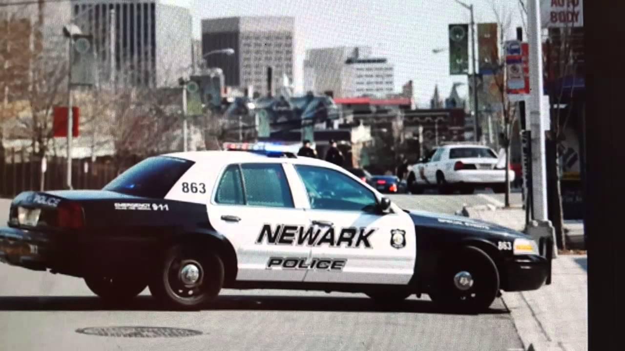 NEWARK, NJ POLICE CHASE (Scanner Audio) 9-14-15