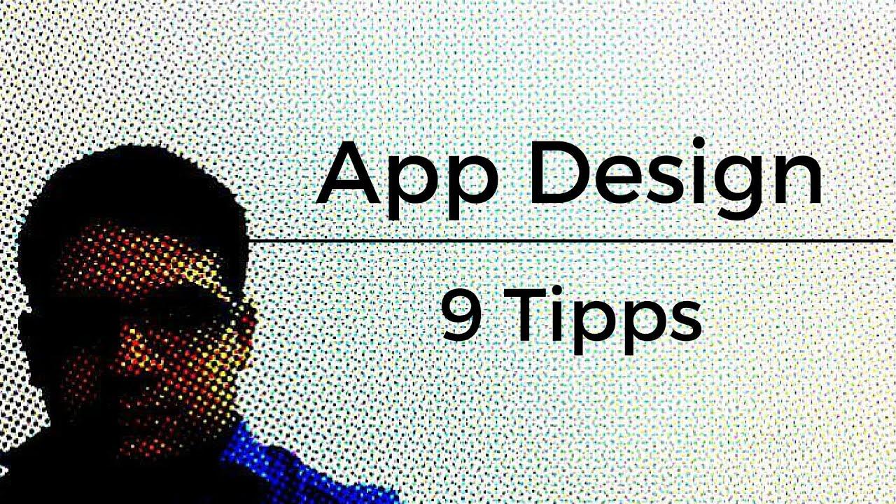 Apps Designen | App Design Erstellen 9 Tipps Youtube