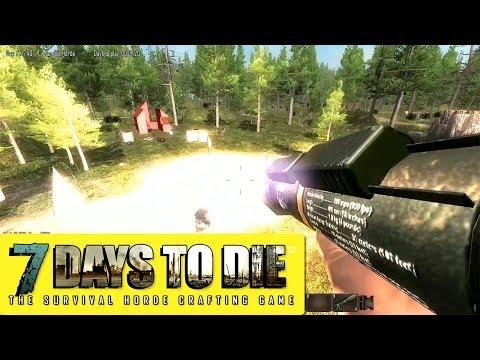 Веселый 7 Days to Die #10 | Режим Орды #3 - Трое камикадзе :D (Alpha 7.11)