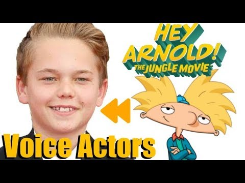 """""""Hey Arnold!: The Jungle Movie"""" (2017) Voice Actors and Characters"""