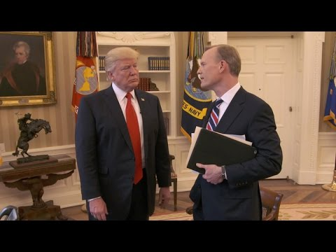 "President Trump talks ""bigness"" of the presidency"