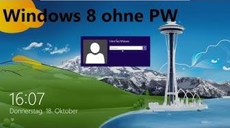 Windows 10 ,8 und 8.1 Passwort entfernen HerrTechNews