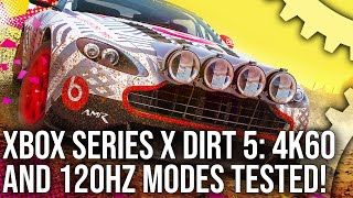 Dirt 5 Xbox Series X Hands-On! 4K60 + 120Hz Modes Tested