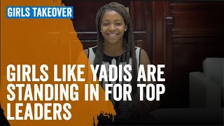 Girls like Yadis are standing in for top leaders