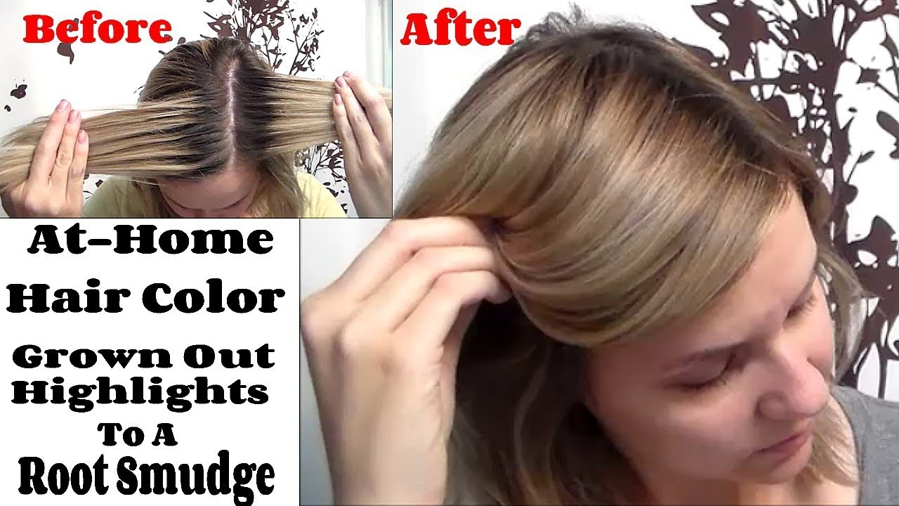Root Smudge How To Blend A Highlighted Demarcation Line At Home
