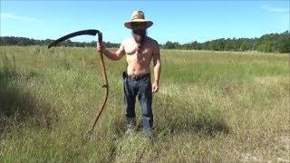 scythe vs weed trimmer
