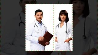 Марго и Рустам. Центральная больница.Центральна лікаря.